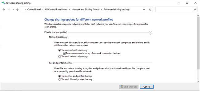 9 cách sửa lỗi Network Discovery không hoạt động trong Windows 10