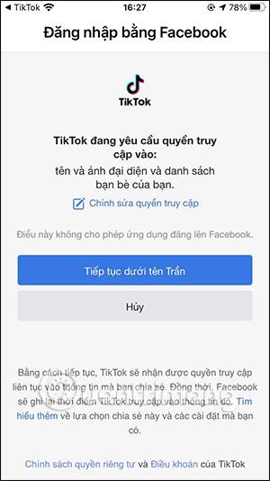 Cách tìm bạn bè Facebook trên TikTok - Ảnh minh hoạ 5