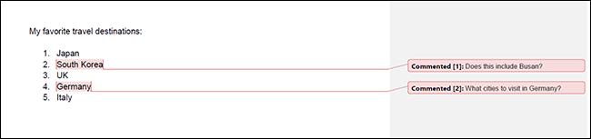Mẹo in tài liệu Google Docs bao gồm cả phần nhận xét (comment) - Ảnh minh hoạ 8