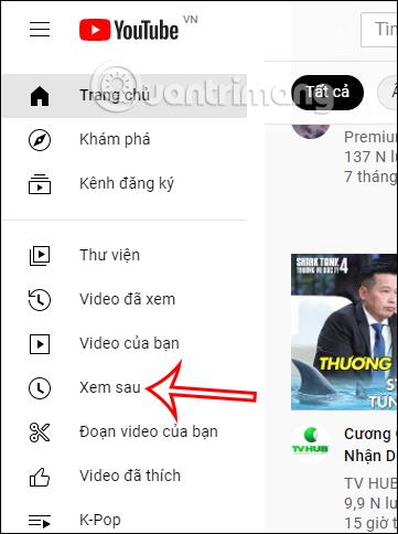 Xem sau YouTube PC