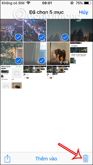 Delete all images