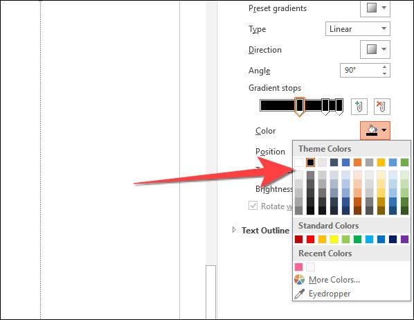 Cách tạo văn bản nhiều màu sắc trong PowerPoint - Ảnh minh hoạ 9