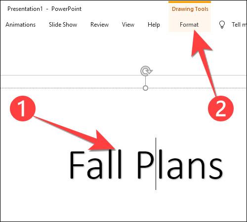 Cách tạo văn bản nhiều màu sắc trong PowerPoint - Ảnh minh hoạ 2