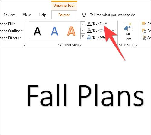 Cách tạo văn bản nhiều màu sắc trong PowerPoint - Ảnh minh hoạ 3