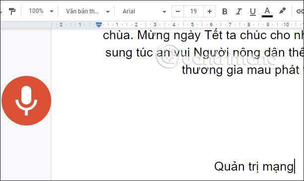 Nhập văn bản bằng giọng nói trên Google Docs như nào? - Ảnh minh hoạ 10