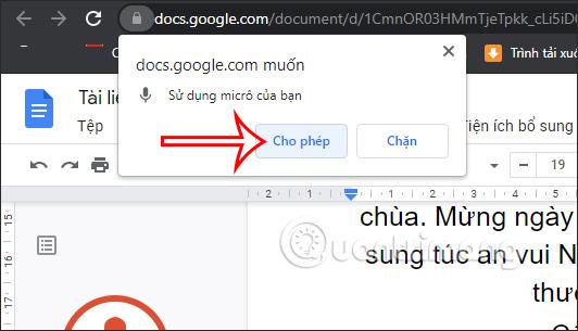 Nhập văn bản bằng giọng nói trên Google Docs như nào? - Ảnh minh hoạ 6