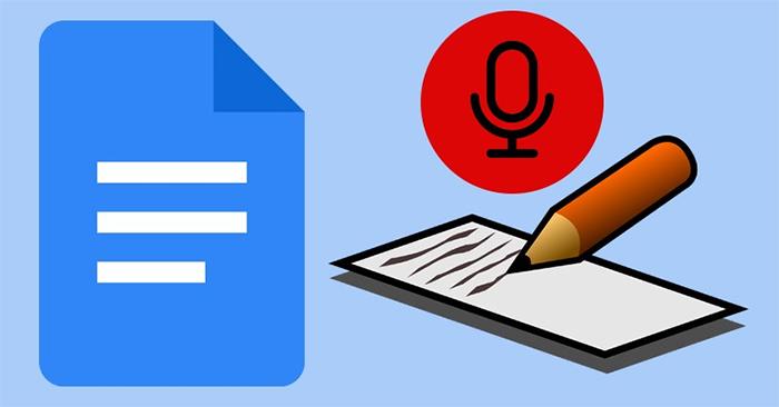 Nhập văn bản bằng giọng nói trên Google Docs như nào?