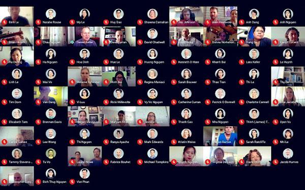 Google Meet Grid View cho phép bạn thấy tất cả mọi người trong cuộc họp