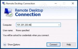 Cách đăng nhập VPS trên Windows 10, truy cập VPS trên Win 10