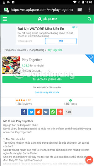 download play together incompatible apkpure