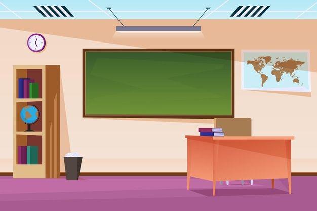 Tải background PowerPoint lớp học đẹp cho thầy cô