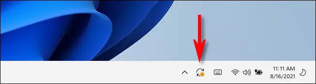 Biểu tượng khởi động lại Windows Update