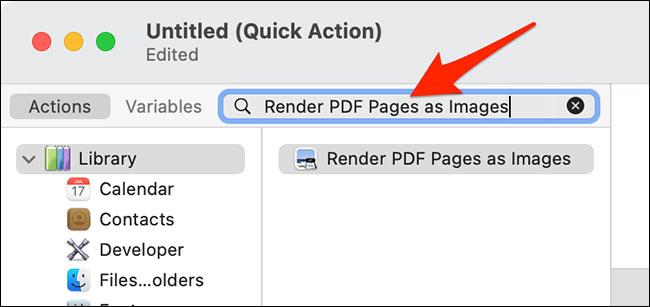 "Nhập ""Render PDF Pages as Images"""