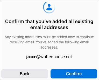 """Nhấp vào """"Confirm"""" để xác nhận"""