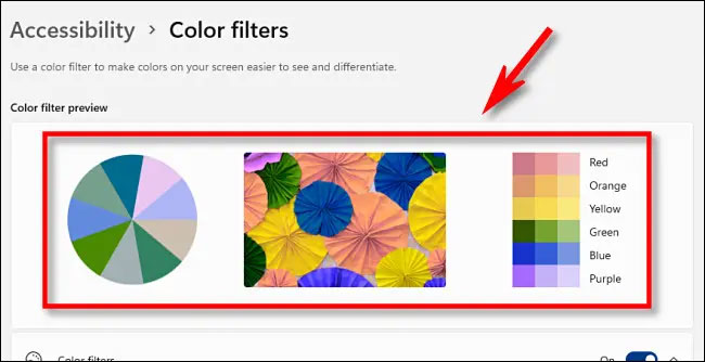 """""""Color Filter Preview"""""""