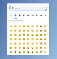 Cách sử dụng biểu tượng cảm xúc (emoji) trên Chromebook