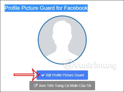 Bảo vệ avatar Facebook