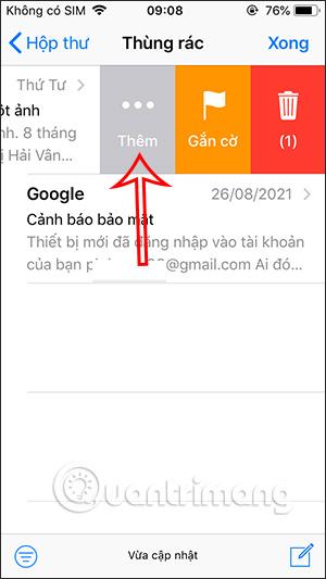 Tù chọn email