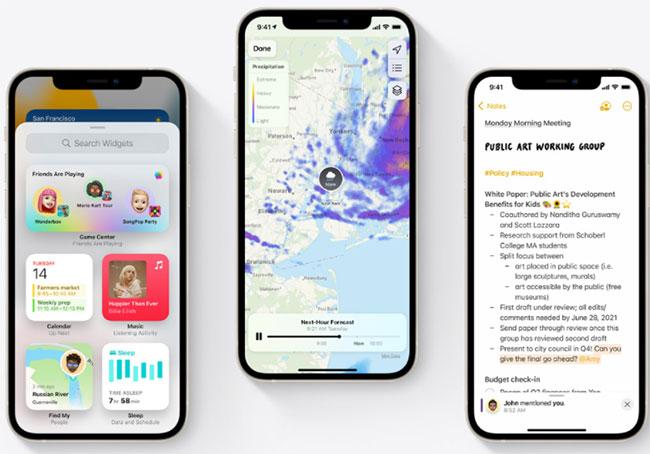 iOS 15 được trang bị nhiều tính năng khác