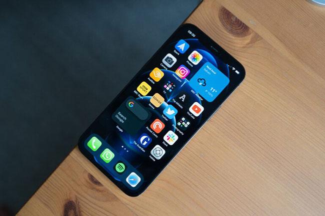 Màn hình trên iPhone 13 Pro có kích thước 6,1 inch