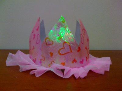 Cách làm vương miện công chúa