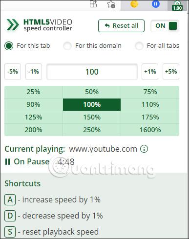 Chỉnh tốc độ video
