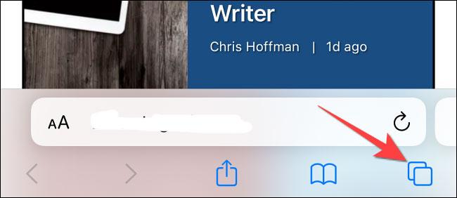 """Nhấn vào nút """"Pages"""""""
