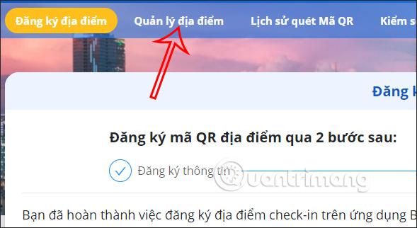 Quản lý mã QR