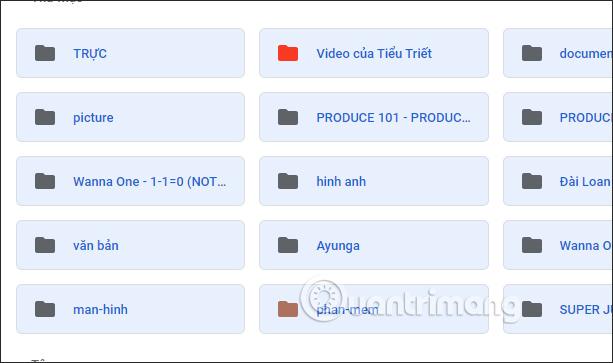 Chọn nhiều file trên Google Drive