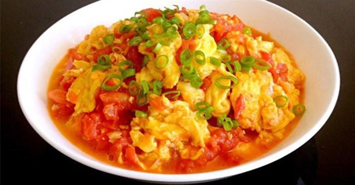 Công thức làm trứng chưng cà chua theo tỷ lệ chuẩn, đảm bảo mềm, mịn, ngon tuyệt