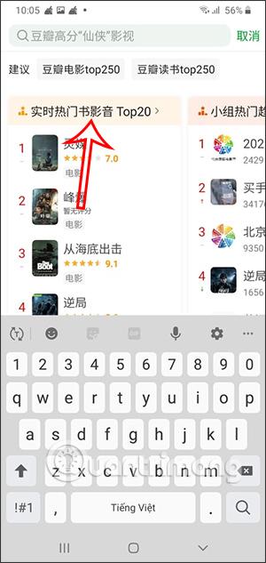 Top phim 20 trên Douban