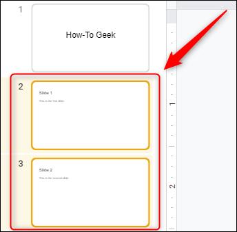 Cách xóa trang slide trong Google Slides - Ảnh minh hoạ 3