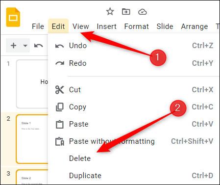 Cách xóa trang slide trong Google Slides - Ảnh minh hoạ 4