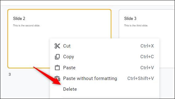 Cách xóa trang slide trong Google Slides - Ảnh minh hoạ 6