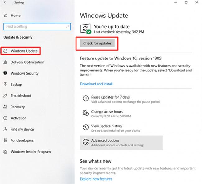 Sử dụng Windows Update để tải và cài đặt driver micro