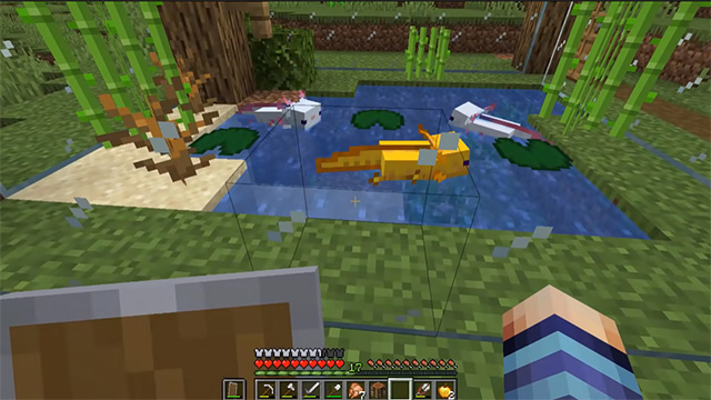 ki giong minecraft