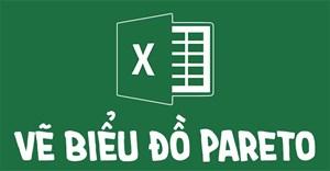 Cách tạo biểu đồ Pareto trong Excel