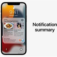 Cách bật tóm tắt thông báo trên iPhone