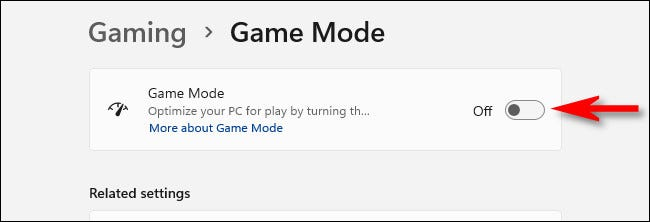"Tắt ""Game Mode"""