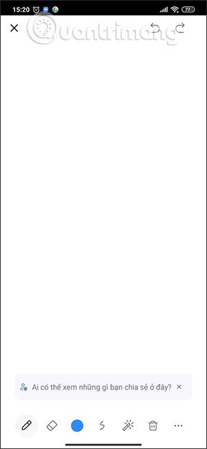 Công cụ vẽ trên Zoom