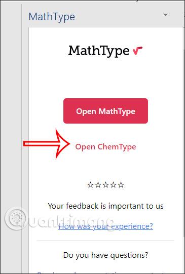 Chỉnh font chữ MathType trong Word
