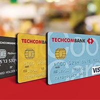 Các loại thẻ ngân hàng Techcombank