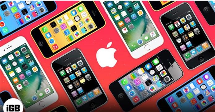 Chiếc iPhone nào được hỗ trợ nâng cấp iOS lâu nhất? Danh sách iPhone cổ điển và lỗi thời vào năm 2021