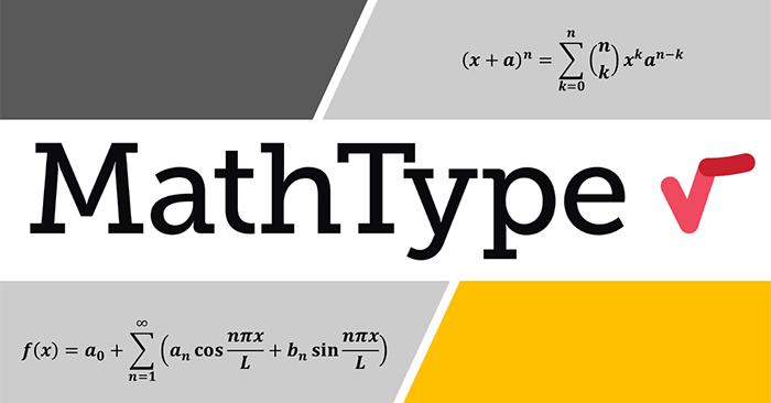 Cách cài MathType vào Word