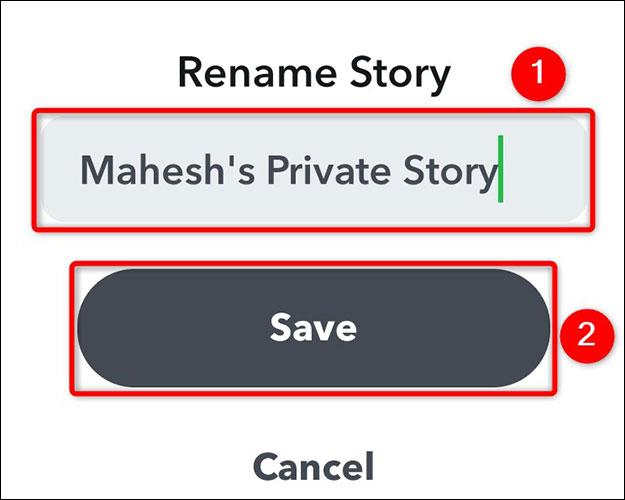 """Nhấn vào """"Save"""""""