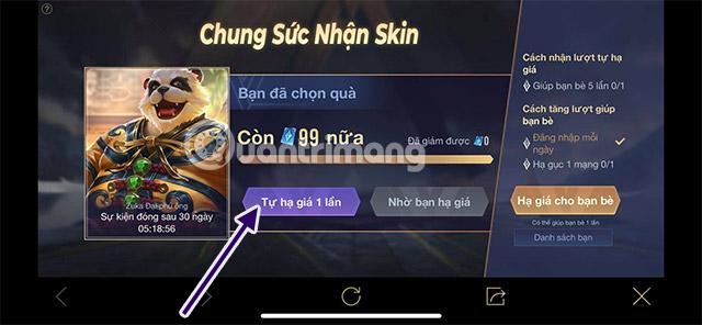 chung suc nhan skin lien quan