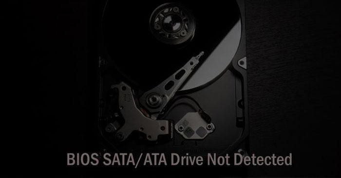 Phải làm gì nếu BIOS không thể phát hiện ổ cứng ATA/SATA trong Windows?