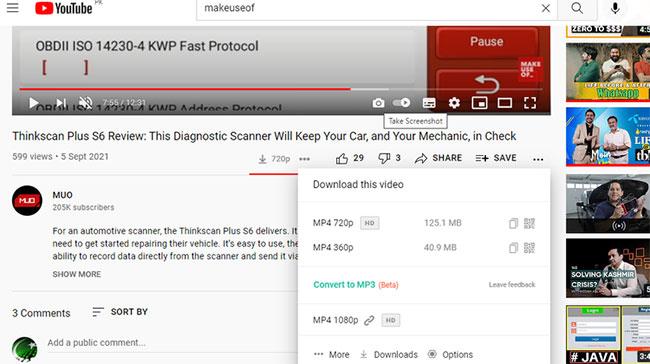 Tải video Youtube với copypastetool.com