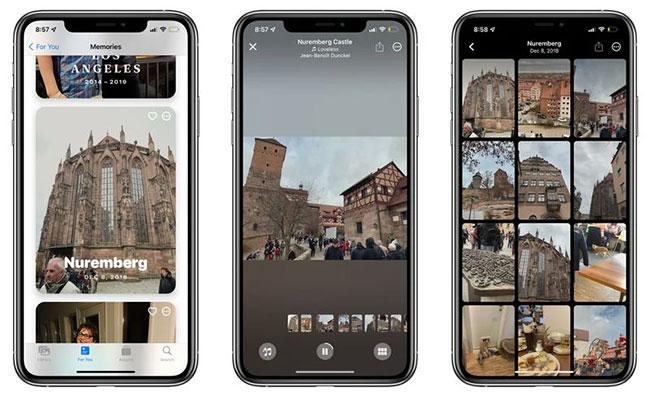 Memories trong iOS 15