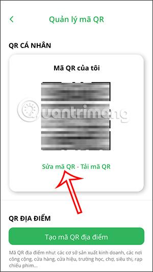 Sửa mã QR